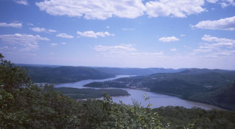 Constitution Marsh and Hudson River from Bull Hill D.J. Evans